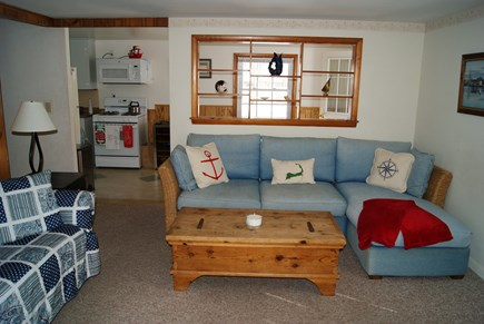 Harwichport Cape Cod vacation rental - Living Room.