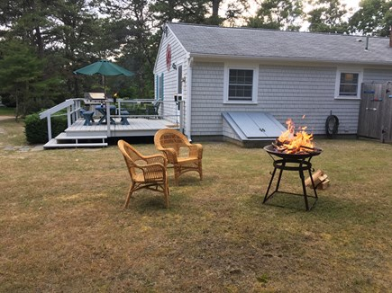 Harwichport Cape Cod vacation rental - Large back yard.