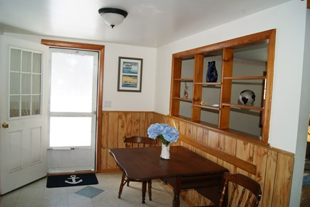 Harwichport Cape Cod vacation rental - Entry from the porch.