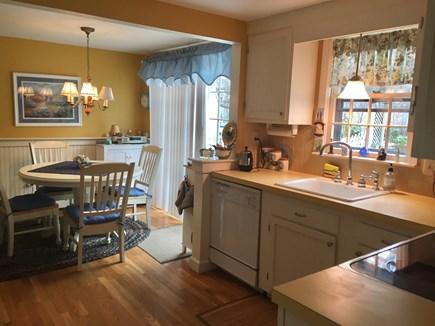 Brewster Cape Cod vacation rental - Kitchen toward dining