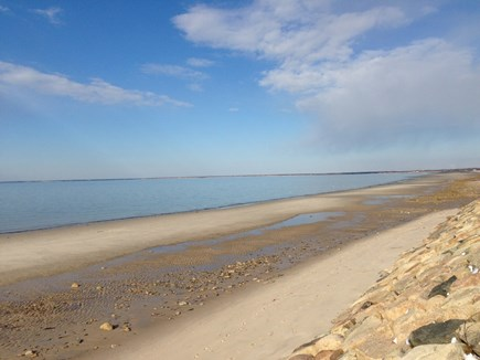 Brewster Cape Cod vacation rental - Beach at end of street