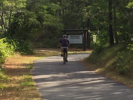Brewster Cape Cod vacation rental - Bike Trail