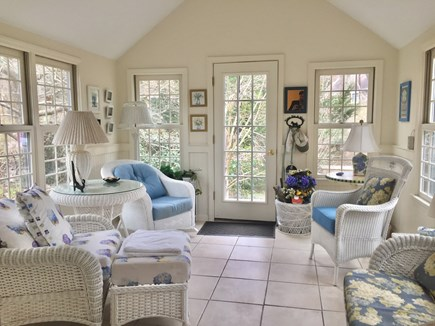 Brewster Cape Cod vacation rental - Lovely sun room area