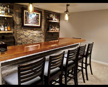 Harwich Cape Cod vacation rental - Beautiful wet bar area for entertaining