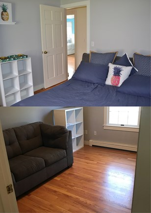 Harwich Cape Cod vacation rental - Study/room with full sized sofa bed - brand new upgraded mattress