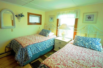 South Yarmouth Cape Cod vacation rental - Lovely BR with 2 twin beds (can be converted to king size)-1st fl