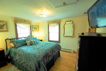 South Yarmouth Cape Cod vacation rental - Comfortable bedroom with Queen size bed and Ocean view (1st fl)