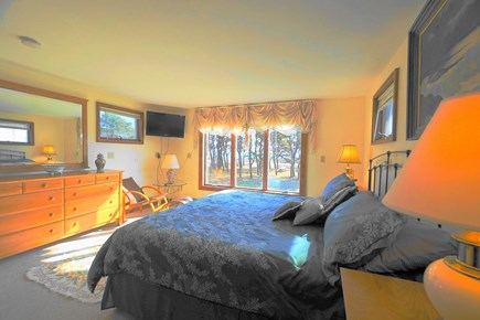 South Yarmouth Cape Cod vacation rental - Ocean Beach View from the Gorgeous Master Bedroom with King Bed
