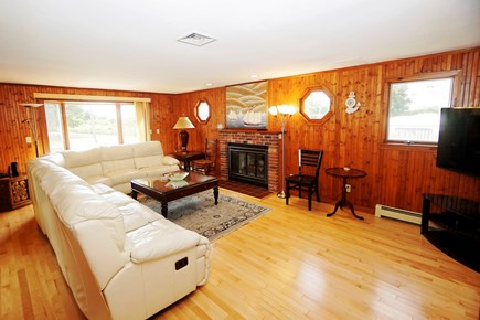 South Yarmouth Cape Cod vacation rental - Sunlit Living room with the Ocean view