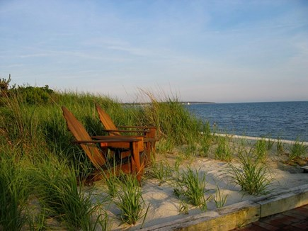 Oceanfront Residential Hyannis Cape Cod vacation rental - Watch the Boats on the Horizon From the Edge of Our Yard