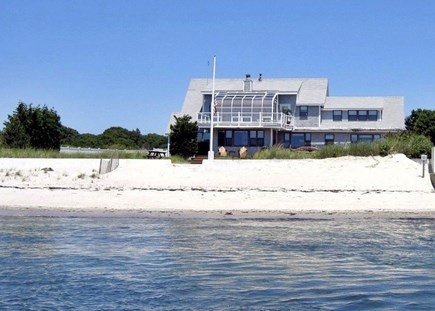 Oceanfront Residential Hyannis Cape Cod vacation rental - The ocean is truly part of your backyard!
