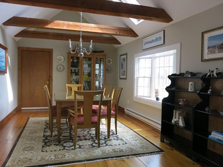Eastham Cape Cod vacation rental - Spacious dining room with seating for 6.