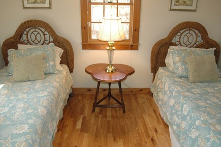 Eastham Cape Cod vacation rental - Downstairs bedroom with 2 twin beds.