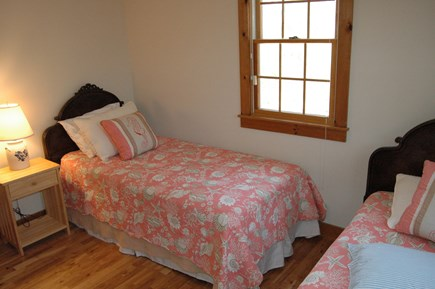 Eastham Cape Cod vacation rental - Second downstairs bedroom with 2 twin beds.