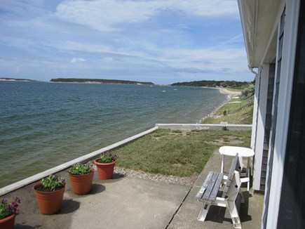 Wellfleet Cape Cod vacation rental - View from the patio