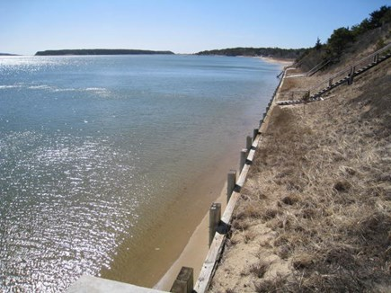 Wellfleet Cape Cod vacation rental - Mid to high tide