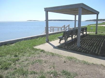 Wellfleet Cape Cod vacation rental - Community benches