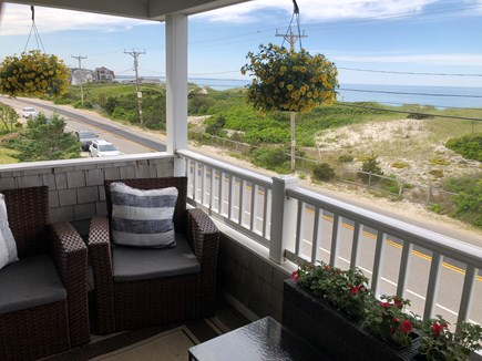 Plymouth MA vacation rental - Deck across the dunes