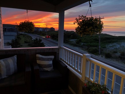 Plymouth MA vacation rental - Sunset deck
