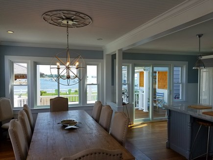 West Yarmouth Cape Cod vacation rental - Dining room with a view
