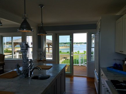West Yarmouth Cape Cod vacation rental - Fabulous Kitchen with access to the deck