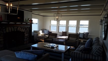 West Yarmouth Cape Cod vacation rental - Room for everyone in the oversized Living room