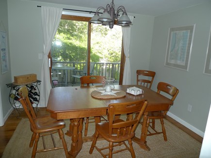 Brewster Cape Cod vacation rental - Dining Room opens to deck