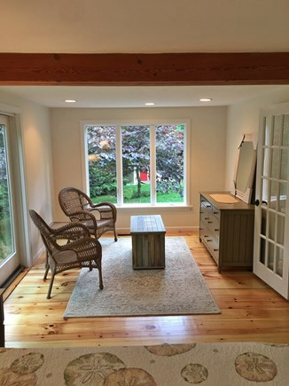 Brewster Cape Cod vacation rental - Master Bedroom Sitting Area
