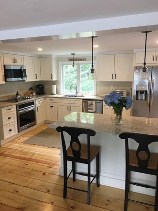 Brewster Cape Cod vacation rental - Brand New Kitchen with Granite Counters and Stainless Steel