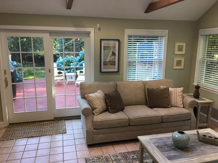 Brewster Cape Cod vacation rental - View From Family Room to Rear Deck