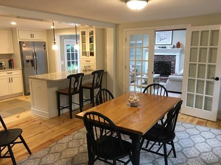 Brewster Cape Cod vacation rental - Dining Room & Kitchen Island