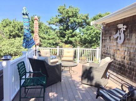 Truro Cape Cod vacation rental - Lower Deck.