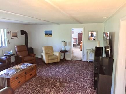 Truro Cape Cod vacation rental - TV Room.