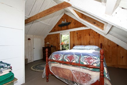 Harwich -  Cape Cod vacation rental - 2nd floor bedroom.  Skylights and starry skies.
