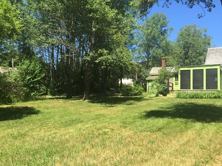 Harwich -  Cape Cod vacation rental - Large private back yard.