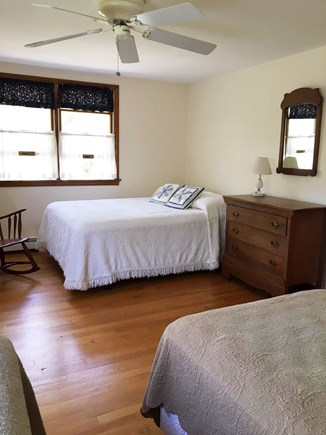 Eastham Cape Cod vacation rental - 2nd floor bedroom with 1 double bed & 2 twin beds
