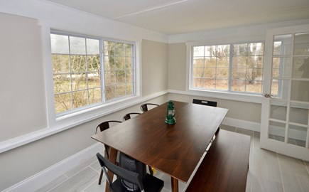 Barnstable, Centerville Cape Cod vacation rental - Porch room off living room on main floor