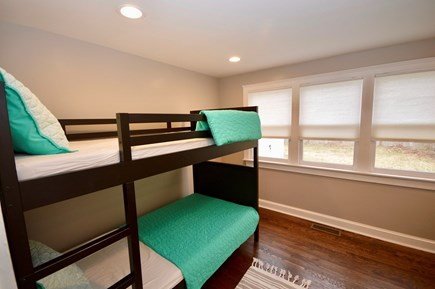 Barnstable, Centerville Cape Cod vacation rental - Main level room with twin bunk bed