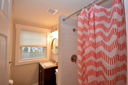 Barnstable, Centerville Cape Cod vacation rental - Upper level full bath with stand up shower