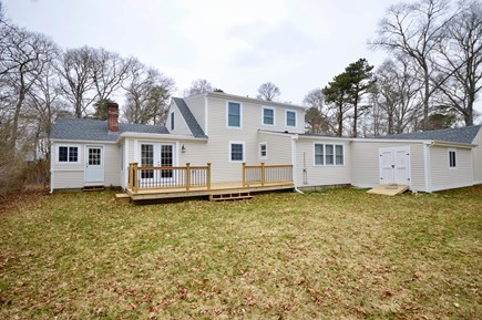Barnstable, Centerville Cape Cod vacation rental - Huge backyard! Will have grill and outdoor furniture on the deck