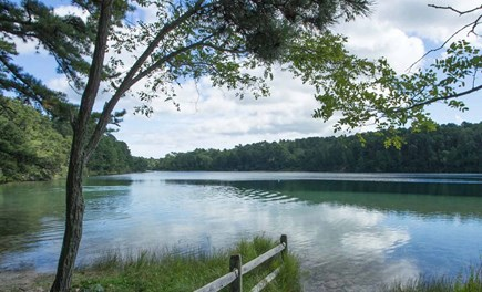Wellfleet Cape Cod vacation rental - Long Pond a short walk away