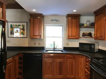 Wellfleet Cape Cod vacation rental - Kitchen with granite countertops