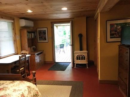 Wellfleet Cape Cod vacation rental - Lower Bedroom with outdoor deck
