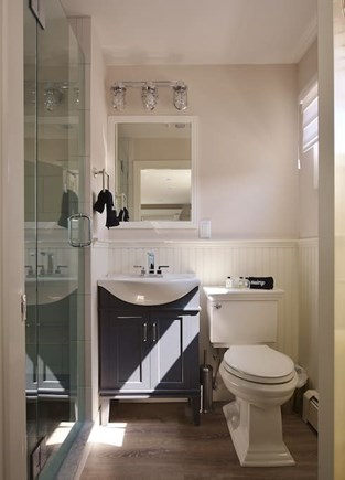 TRURO Cape Cod vacation rental - Bathroom with walk-in shower.