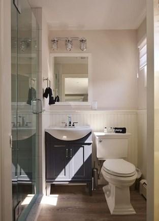 TRURO Cape Cod vacation rental - Bathroom with walk-in shower.