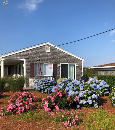 TRURO Cape Cod vacation rental - Front of unit facing the bay.