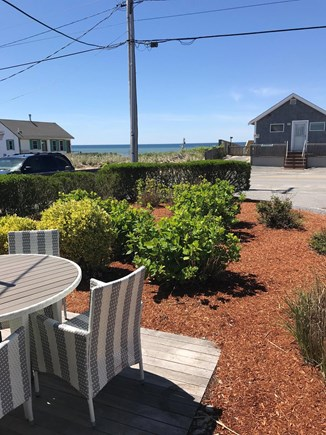 TRURO Cape Cod vacation rental - View of bay from front porch area.