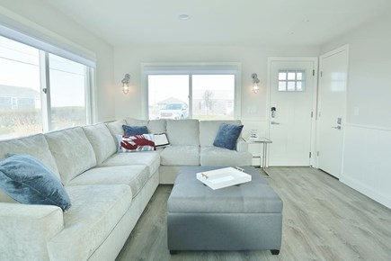 TRURO Cape Cod vacation rental - Open and airy.  View of bay from windows.
