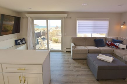 TRURO Cape Cod vacation rental - Bay views from kitchen.