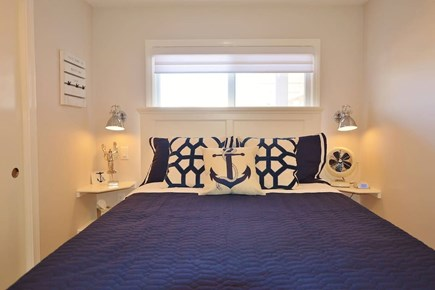 TRURO Cape Cod vacation rental - Bedroom with queen bed.
